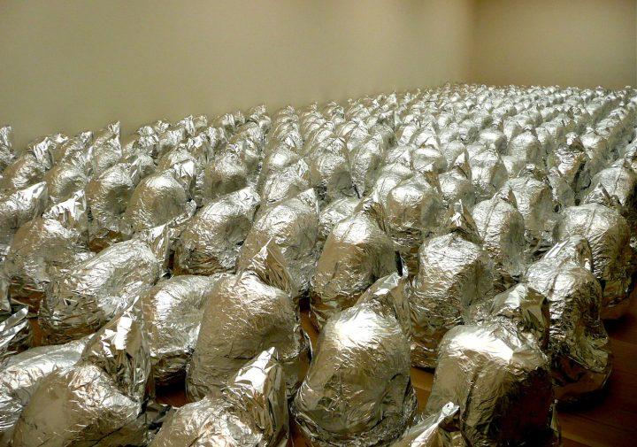 """Kader Attia, """"Ghost"""" (2007) (photo by Herry Lawford/Flickr)"""