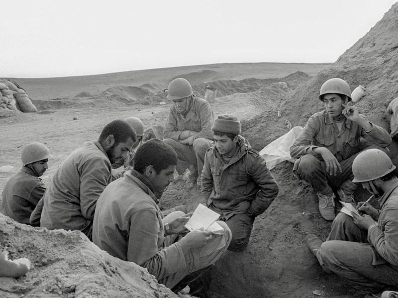 "Bahman Jalali, ""Untitled"" from the Iran-Iraq War 1980–1988 series, analog photography, archival inkjet print, 20 x 30cm"
