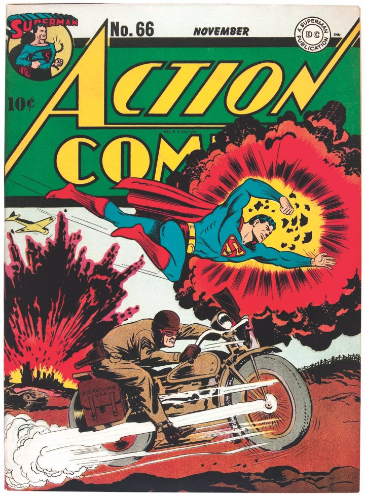 Cover of Action Comics #66 (November 1943)