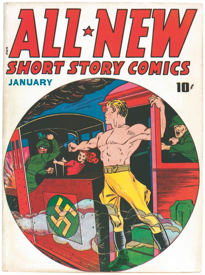 Cover of All New Short Story Comics #1 (January 1943)