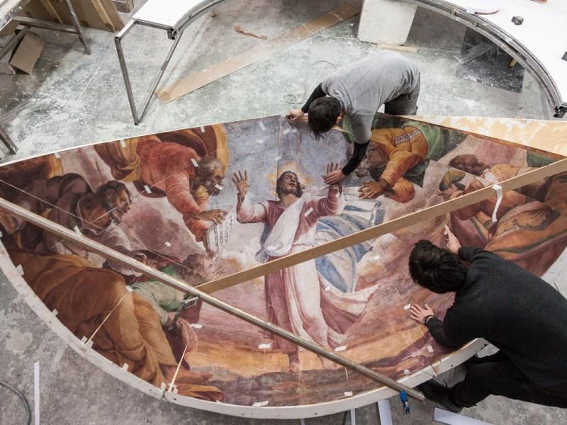 The reproduction of the Borgherini Chapel by Factum Arte (photo © Factum Arte)