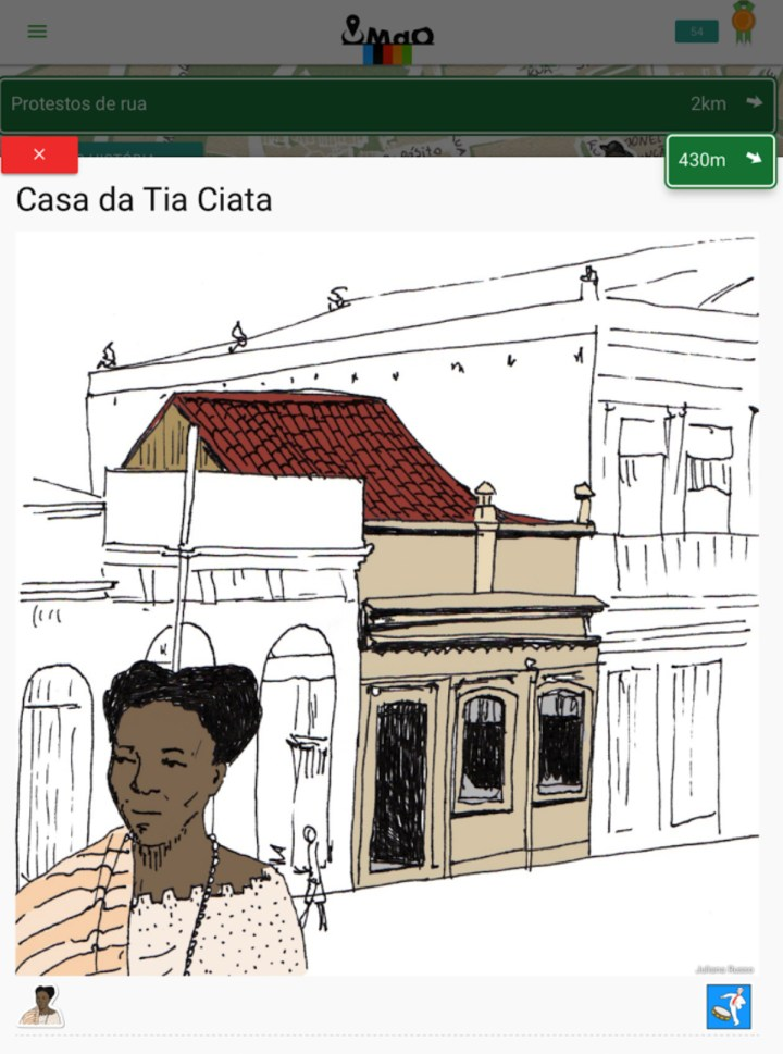 The Museum of Yesterday app (courtesy Casa Pública)