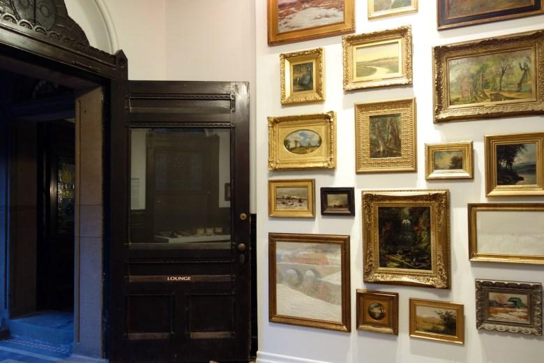 Installation view of <em srcset=