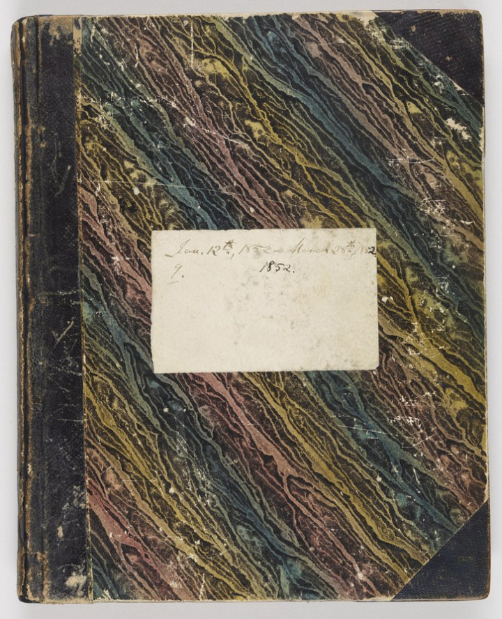 One of Henry David Thoreau's journals (courtesy Morgan Library & Museum)