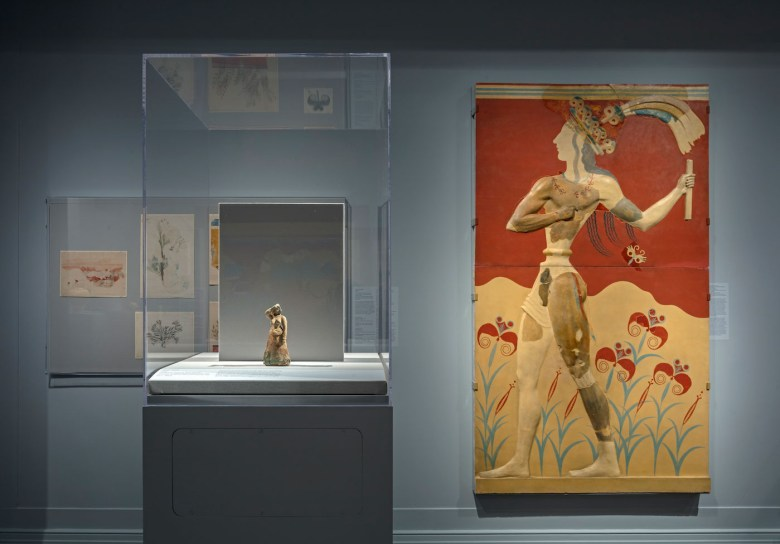 Restoring the Minoans: Elizabeth Price and Sir Arthur Evans (courtesy Institute for the Study of the Ancient World)