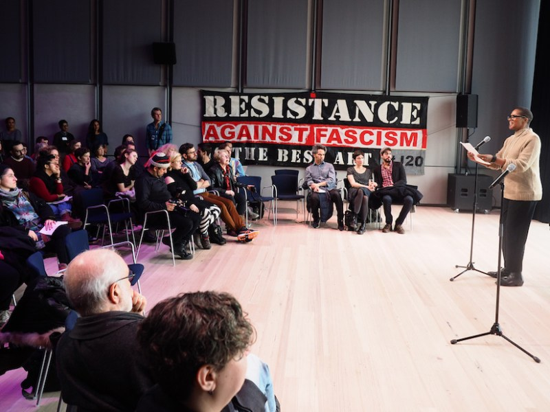The Whitney Museum's J20 event in 2017