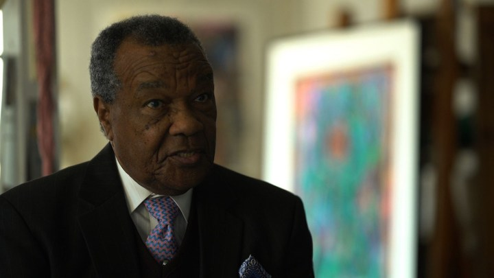 Artist and art historian David Driskell is one of many talking heads in the film.