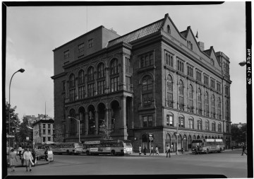 The Cooper Union's Foundation Building (photo courtesy Library of Congress, via Wikimedia Commons)