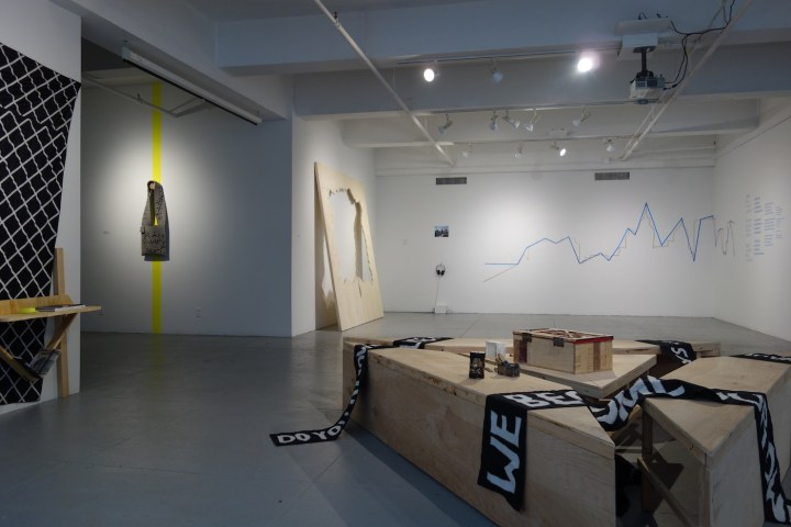 #callresponse installation view (photo courtesy of EFA Project Space)