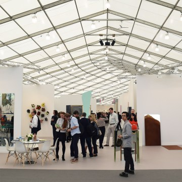 Frieze New York in 2017 (photo by the author for Hyperallergic)