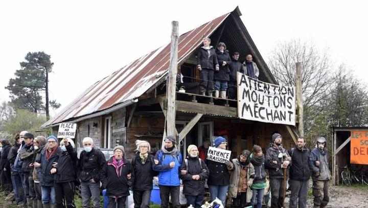 ZAD residents bracing for the April 9 eviction (photo courtesy John Jordan)