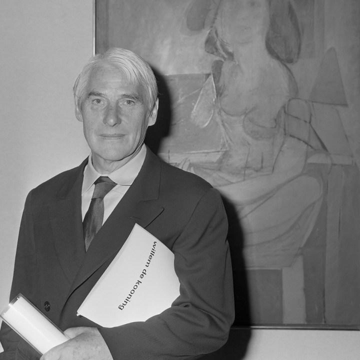 Willem de Kooning (1968) (image courtesy of Wikimedia)