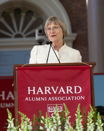 Drew Gilpin Faust (Photo by Jon Chase/Harvard University) (image courtesy of the Getty Foundation)