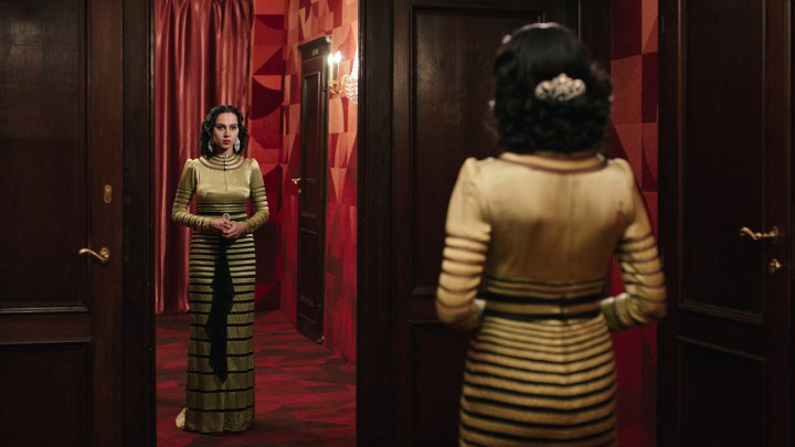 Looking for Oum Kulthum (2017), directed by Shirin Neshat in collaboration with Shoja Azari (image courtesy of Razor Film)