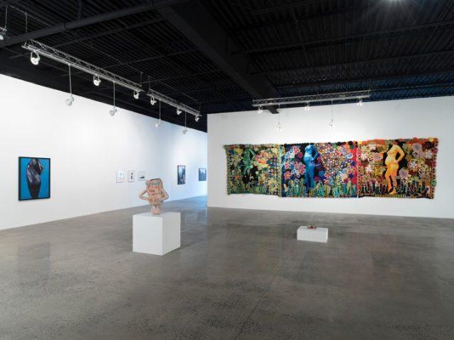 Installation shot of <em>Please Touch: Body Boundaries</em> at Mana Contemporary (image courtesy of Mana Contemporary)