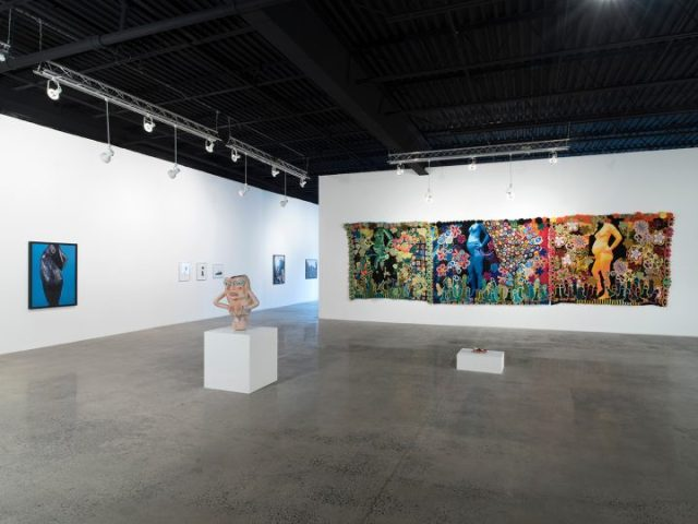 Installation shot of <em>Please Touch: Body Boundaries</em> at Mana Contemporary (image courtesy of Mana Contemporary)