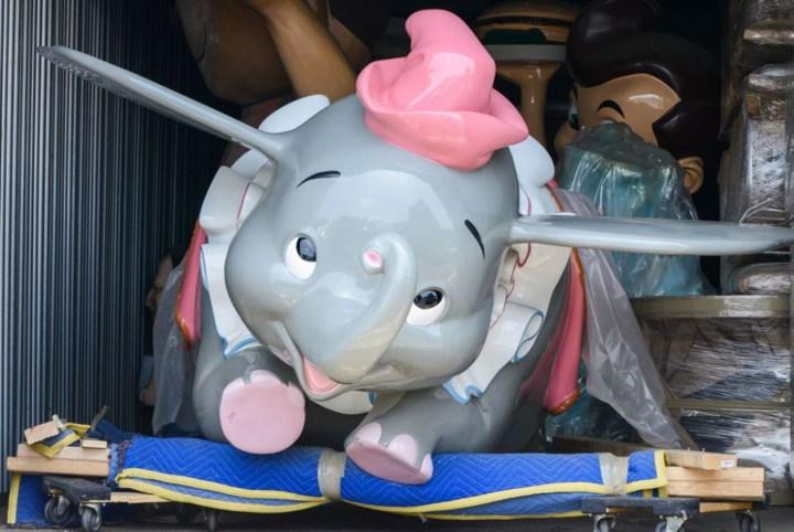 Dumbo the Flying Elephant ride car (image courtesy of Van Eaton Galleries)