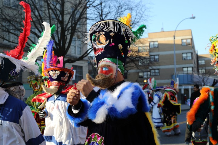 People dancing at the Three Kings' Day Parade (2013) (image via Timothy Kraus's Flickrstream)