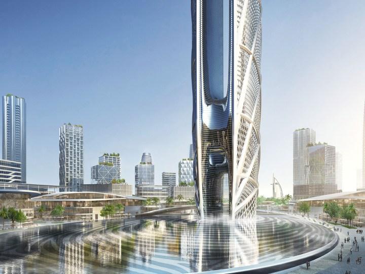 Rendering of Burj Jumeira