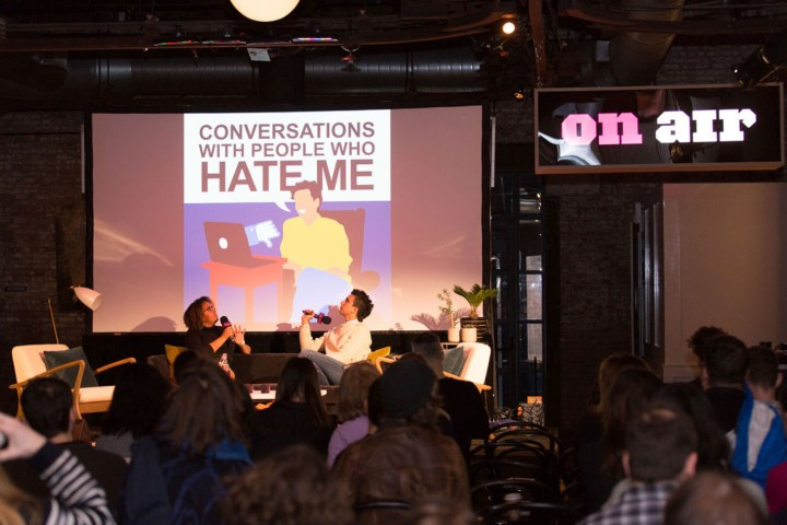 """On Air Fest 2018, """"Conversations With People Who Hate Me"""" (all images courtesy On Air Fest)"""