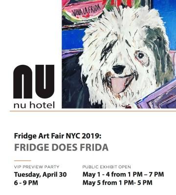 Fridge Does Friday (image courtesy Eric Ginsburg)