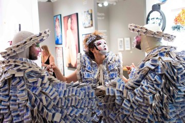 Superfine! Art Fair 2018 (photo by James Miille, image courtesy Superfine!)