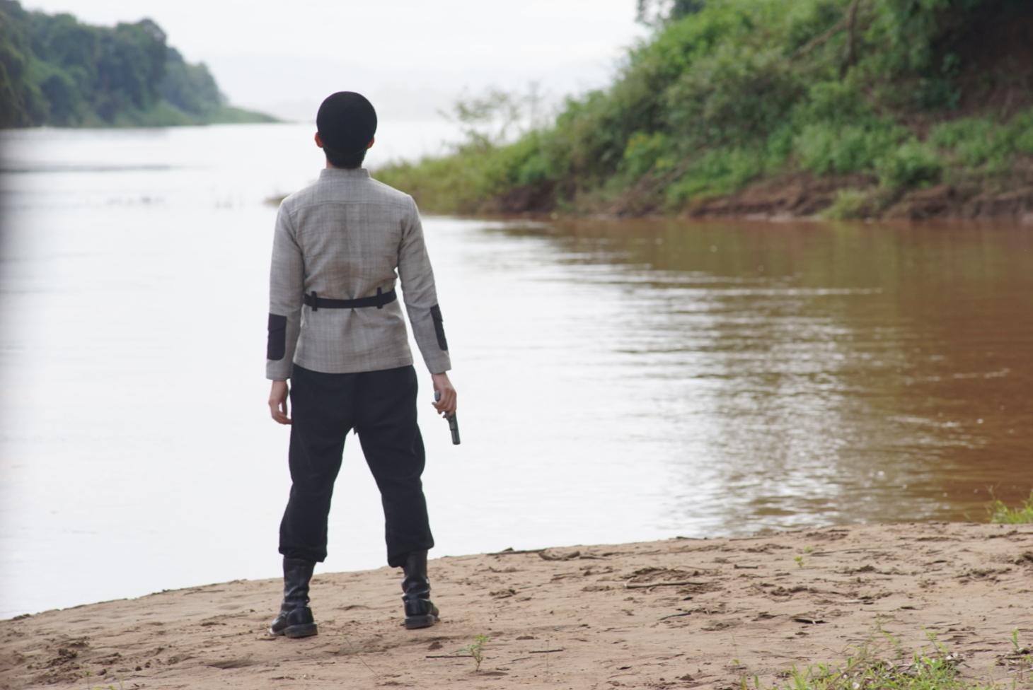 Các tác phẩm trong dự án Mekong 2030 gắn liền những thảm họa môi trường với sự suy thoái đạo đức của con người. Ảnh: Phim The Che Brother (Anysay Keola)