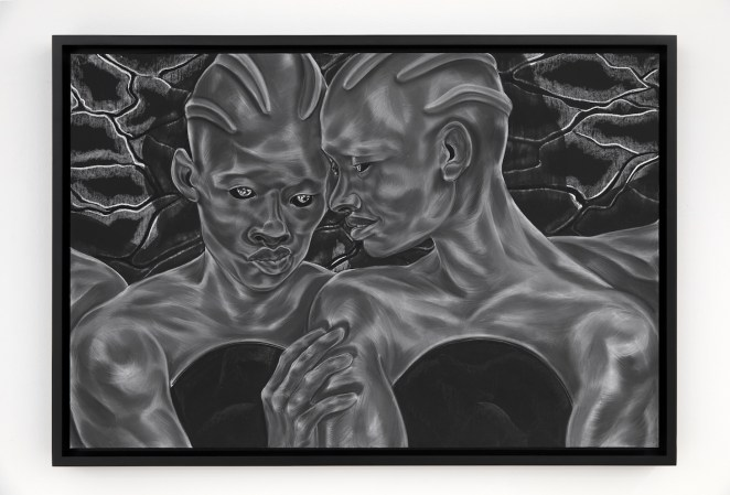 7. To See and To Know Future Lovers from A Countervailing Theory 2019 © Toyin Ojih Odutola