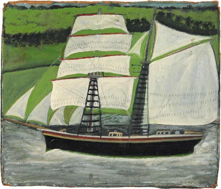 The Crude, Exhilarating, Watery Worlds of Alfred Wallis