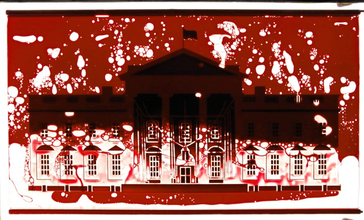Anticipating Escalating Violence, DC Arts Organization Postponed Display of Blood-drenched White House