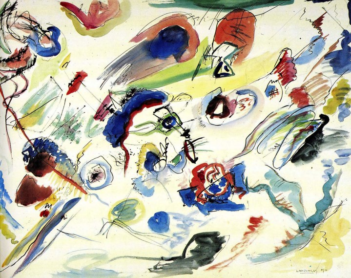 Experience Wassily Kandinsky's Art Through Simulated Synesthesia