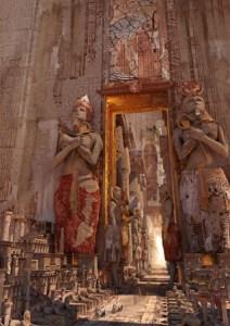 ArtStation-door-of-Luxor-Te-Hu