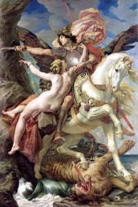 Paul-Joseph-Blanc-Roger-and-Angelica-1876-from-an-epic-poem-called-Orlando-Furioso-published-in-