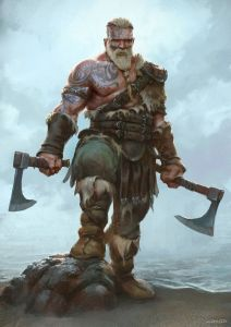 813f937081203737eebaa3bb3b0b9ee1--fantasy-warrior-viking-warrior-art