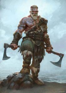 813f937081203737eebaa3bb3b0b9ee1--fantasy-warrior-viking-warrior-art
