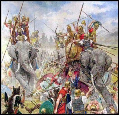 acb5cfc18c8d08bc4ad30db0354be671--war-elephant-roman-legion