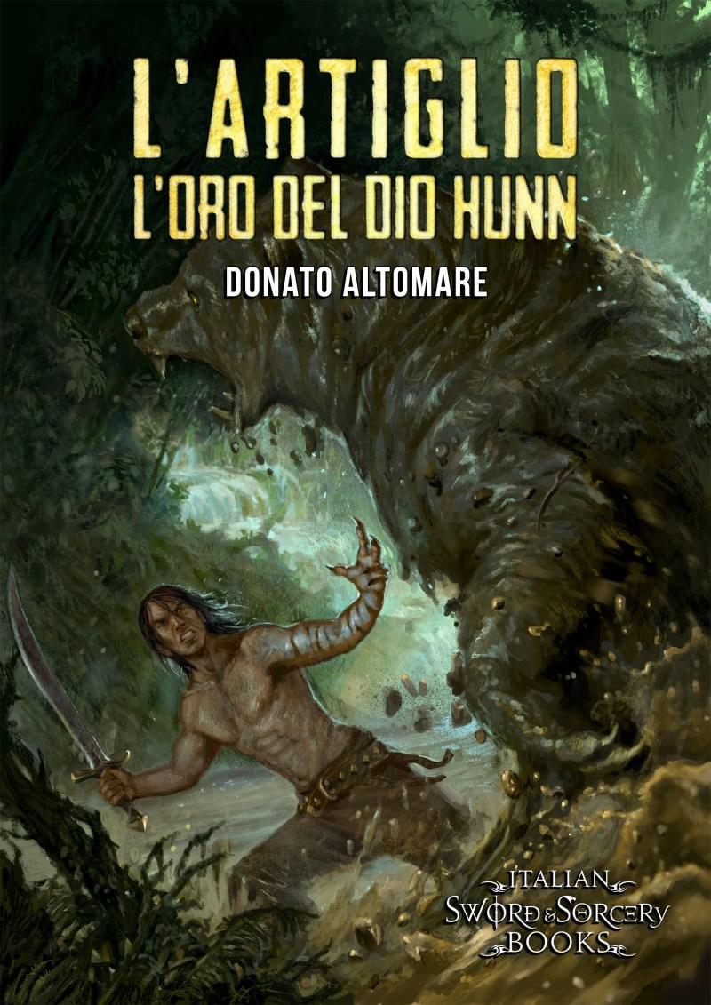 Cover L'Artiglio. L'oro del Dio Hunn