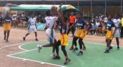 Ashanti schools star in Sprite Ball Girls Division