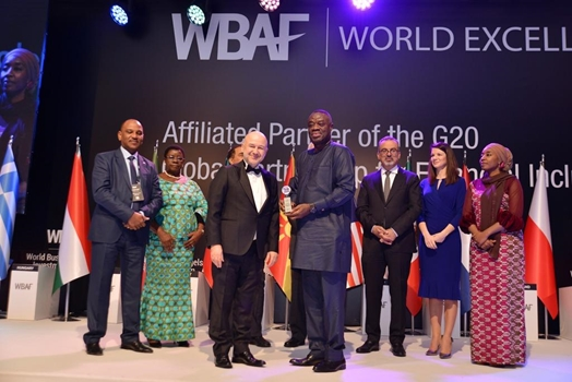 Business Development Minister, Dr. Mohammed Awal adjudged Most Business-Oriented African Minister
