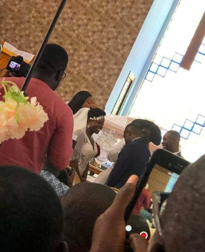 Videos from Dancehall singer Kaakie's wedding surface online