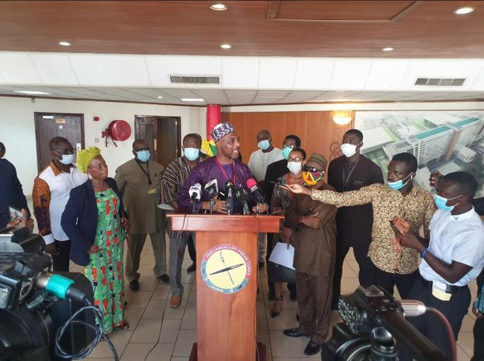Minority angry with Adom-Otchere for 'rebuking' Zanetor; vows to petition NMC