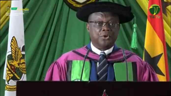 Livestreaming: Watch KNUST 54th congregation