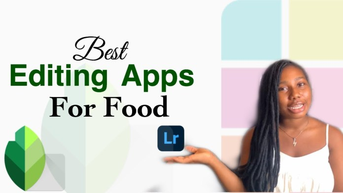 3 best editing apps for food photography for 2020