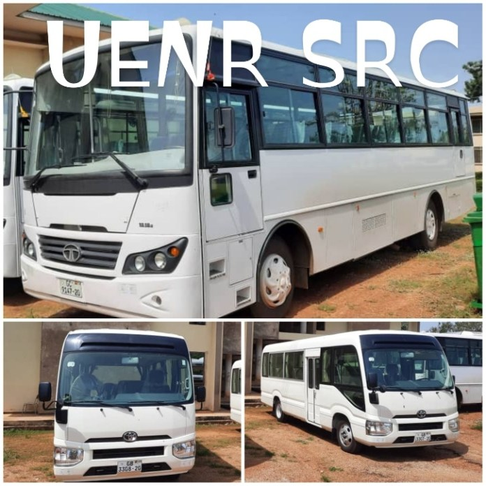 UENR SRC PURCHASES THREE BRAND NEW BUSES
