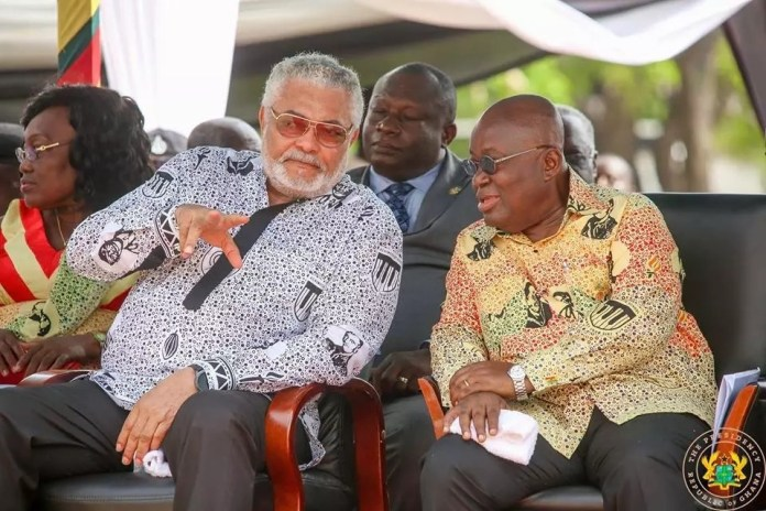 History will be kind to Rawlings – Akufo-Addo