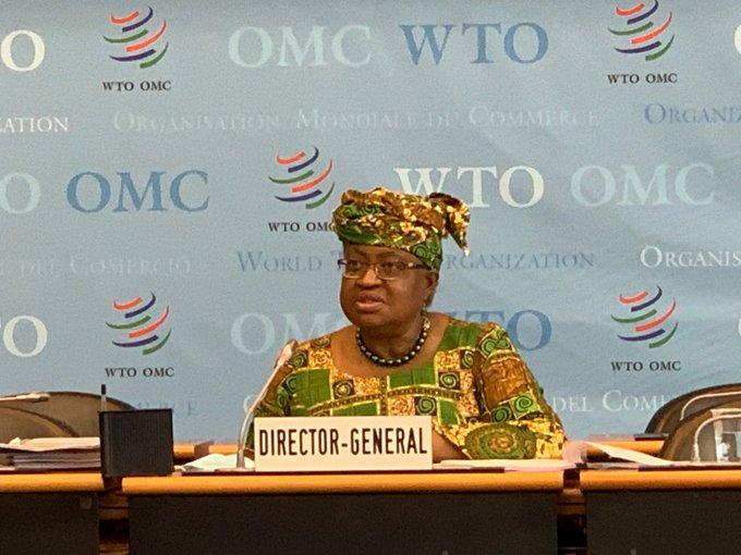 Okonjo-Iweala officially begins work as WTO Director-General