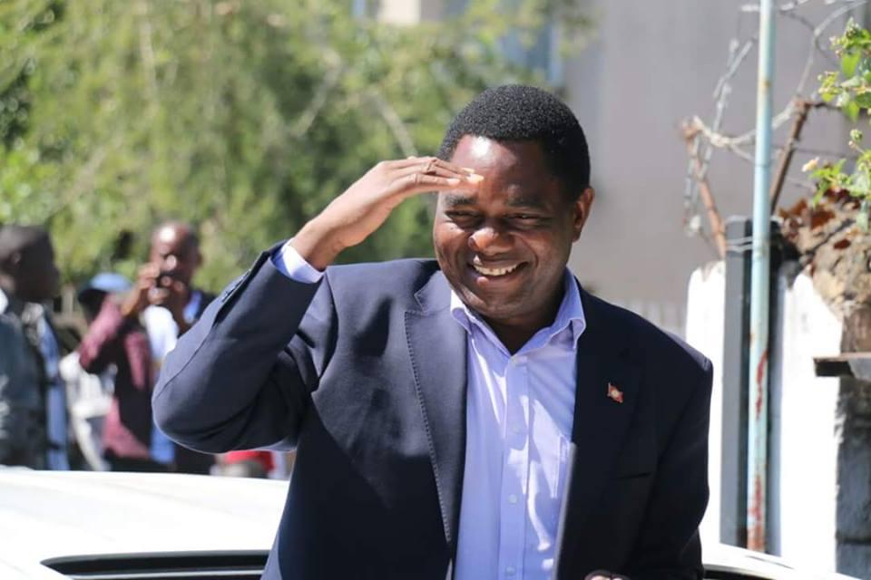 Zambia Election: Hichilema leads Lungu in partial results