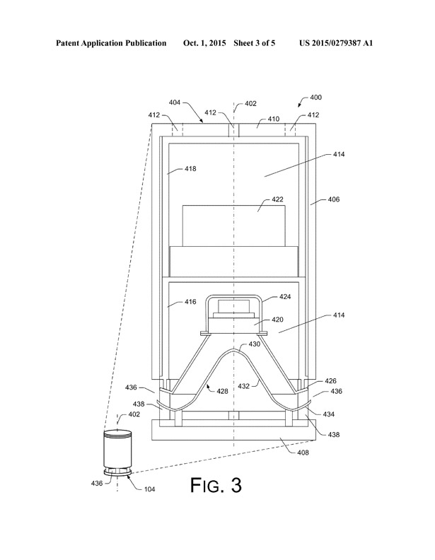 """Echoing"", series of essays, poems, and exchanges to be performed by an Amazon Echo using Alexa, a virtual assistant/ Picture: Amazon Echo Patent"