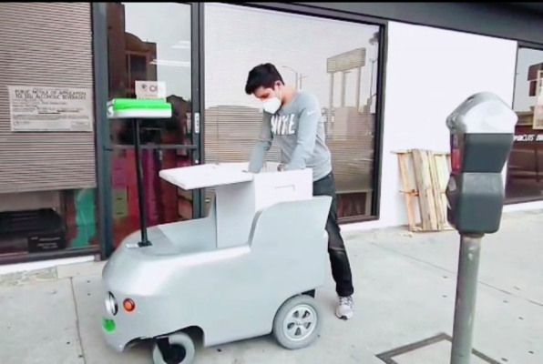 remote controlled delivery carts are now working for the local los angeles grocer hyperedge embed image