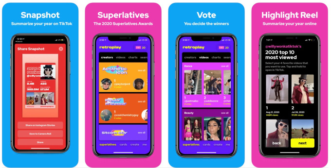 tiktok launches its first personalized annual recap feature year on tiktok hyperedge embed image